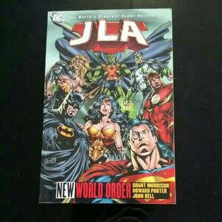 DC JLA New World Order