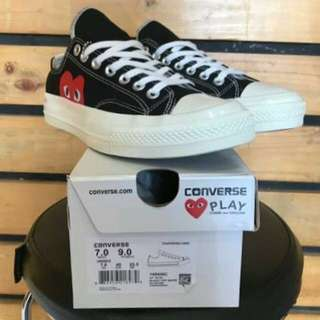 Converse All star CHUCK TAYLOR 70'sLow x Comme Des Garcons Play Black/Red
