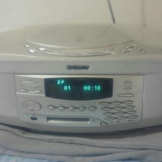 Sony CD player and Recorder