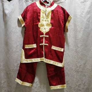 CNY Chinese Traditional Wear for boy