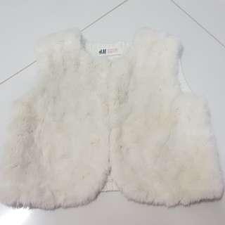 H&M Furry Vest