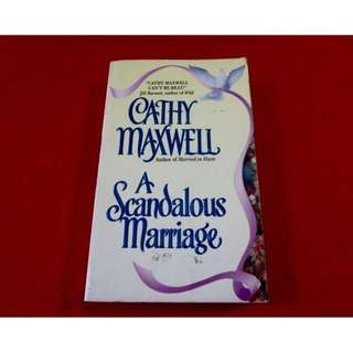 A Scandalous Marriage by Cathy Maxwell
