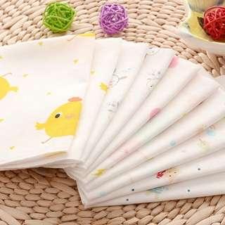 Muslin Handkerchief 10pieces for
