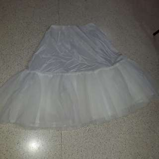 vintage wedding underskirt