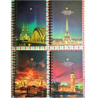 Night Scenery Spiral Notebook