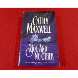You And No Other by Cathy Maxwell