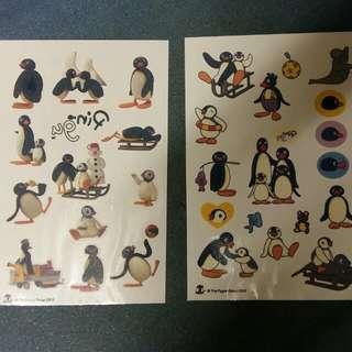 Pingu紋身貼