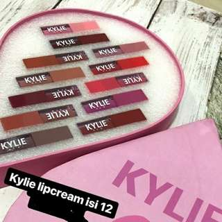 NEW Kylie Lipcream Box 12in1