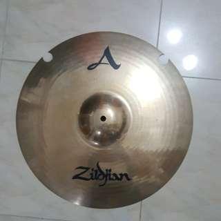 """Zildjian A Custom 18"""" crash modified"""