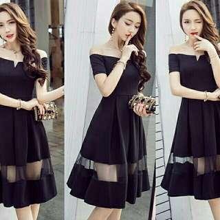 Dress wanita Dress stella Sabrina