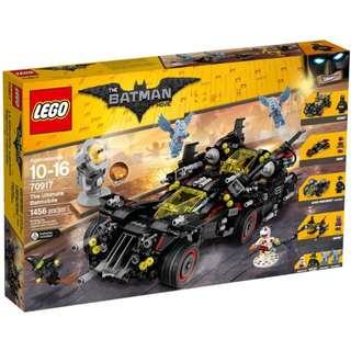 全新未開盒 LEGO 70917 The Ultimate Batmobile