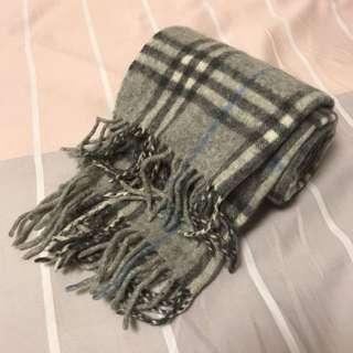 🈹新春割價 Burberry灰色頸巾