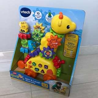 Free Delivery Brand New VTech GearZooz Spin & Laugh Gearaffe Giraffe