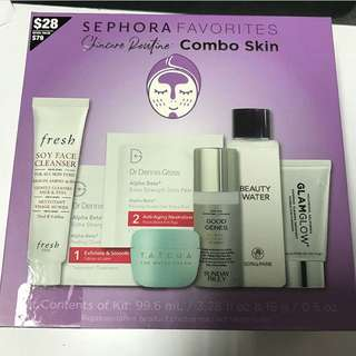 Sephora favorites skin care routine for combo skin