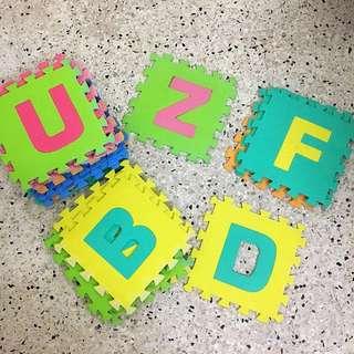 Alphabet Foam  Children Educational Play Mat - Tikar Abjad Kanak Kanak