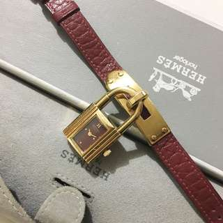Authentic Hermes Kelly Watch Not Longines Titus Cartier Dior Omega Gucci Versace