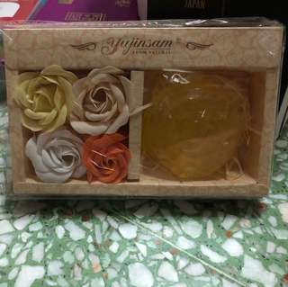 Lemon Soap gift box