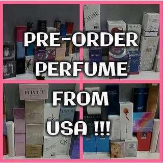 USA PRE-ORDER PERFUMES