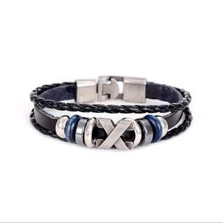 ULB 30-Unisex Vintage Leather Bracelet