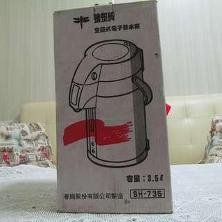 蜻蜓牌空壓式電子熱水瓶