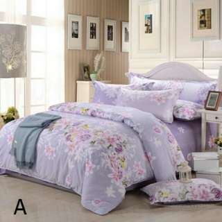 4-In-1 Queen Size Fitted Bed Sheet