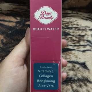 Days beauty water