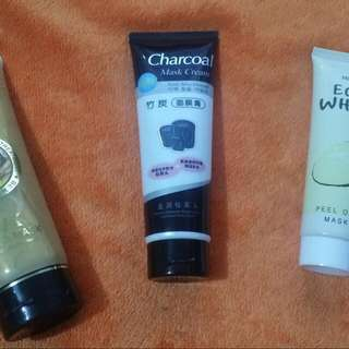 Face Mask. 24k Gold Face Mask $10.00 Charcoal Face Mask $8.00 - 2 For $15.00 Egg White Face Mask $8.00 - 2 For $15.00