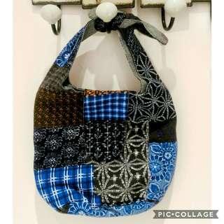 3折✨全新民族風印花餐袋布包