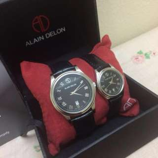 Alain Delon Couple Watches
