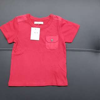 CNY Chinese new year red baby shirt FOX