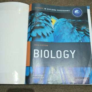 Biology 2014 Edition for IB Diploma Programme