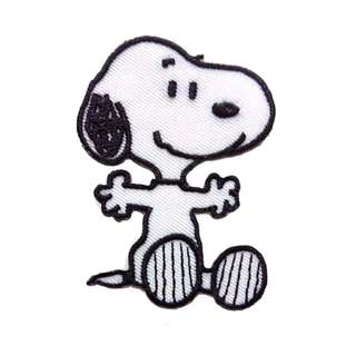 Snoopy Classic Dog Iron On Patch