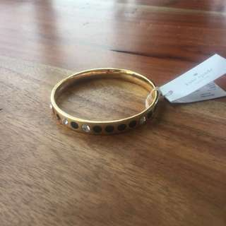 New Kate Spade gold bangle