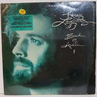 Kenny Loggins - Back To Avalon Vinyl Record