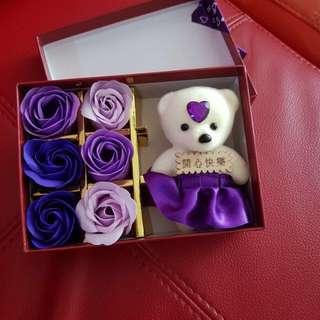 Valentine Soap Roses