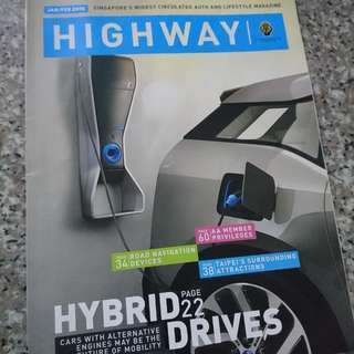 Authentic highway magazine
