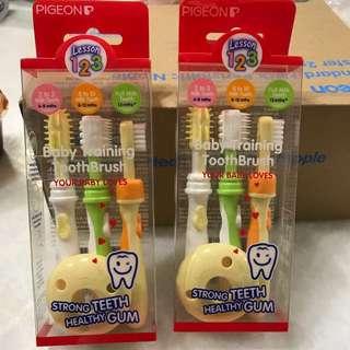 Baby training toothbrush