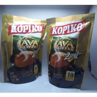 KOPIKO阿拉比卡火山機能咖啡10包1袋