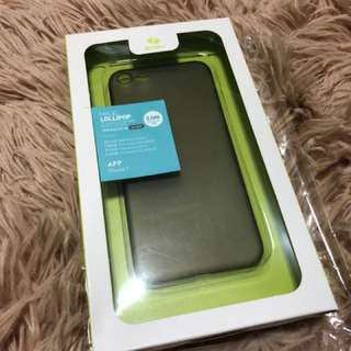 iPhone 7 透黑膠保護套