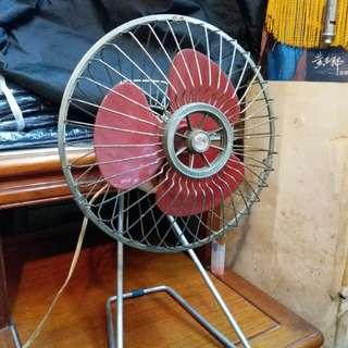 中古懷舊~簡約小型風扇~Work