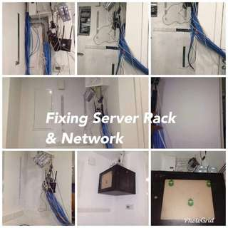 Networking and Server Rack