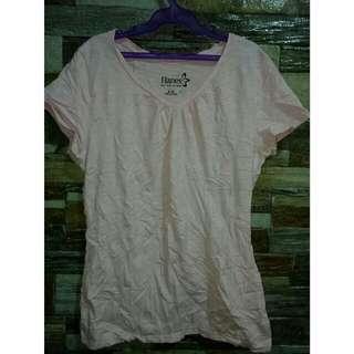 Pink Hanes Shirt