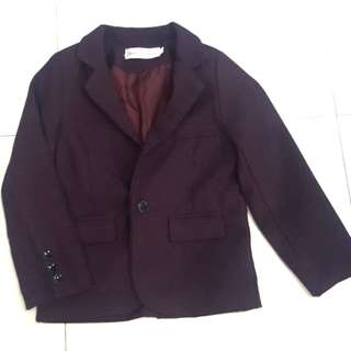 Blazer suit for 4yo (abt 110 to 120cm height)