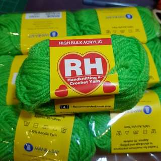Red Heart Apple Green Yarn