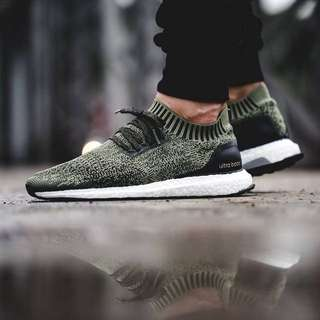 BST029 Adidas Ultra Boost Uncaged 'Tech Earth Olive'