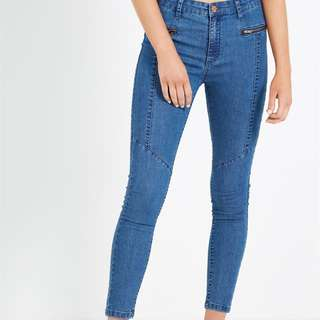 Cotton On Mid Rise Deluxe Skinny Jeans