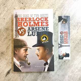 Novel - The Game of Two Quests Sherlock Holmes vs Arsene Lupin