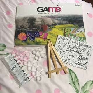 GAME Painting Set