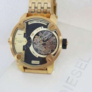 New Diesel Watch (yellow gold)