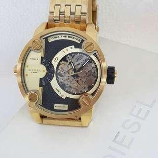 New Diesel Watch (yellow gold)